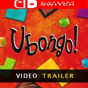Ubongo Nintendo Switch Prices Digital or Box Edition