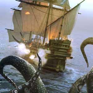 Under the Jolly Roger kraken