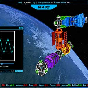 grow crops in space