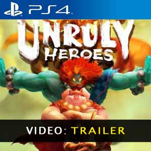 Unruly Heroes PS4 Video Trailer
