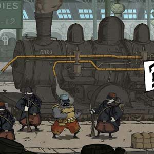 Valiant Hearts The Great War PS4 - Train
