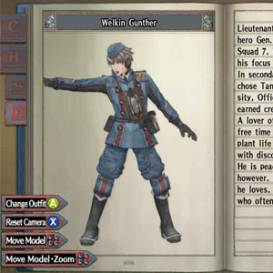 Valkyria Chronicles: Gunther