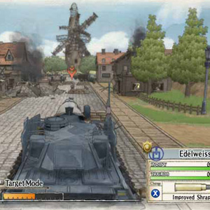 Valkyria Chronicles: Tank Target Mode