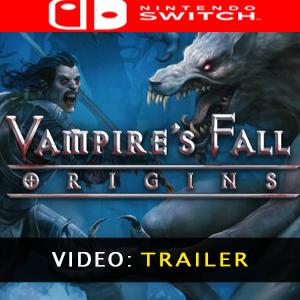 Vampires Fall Origins Nintendo Switch Video Trailer