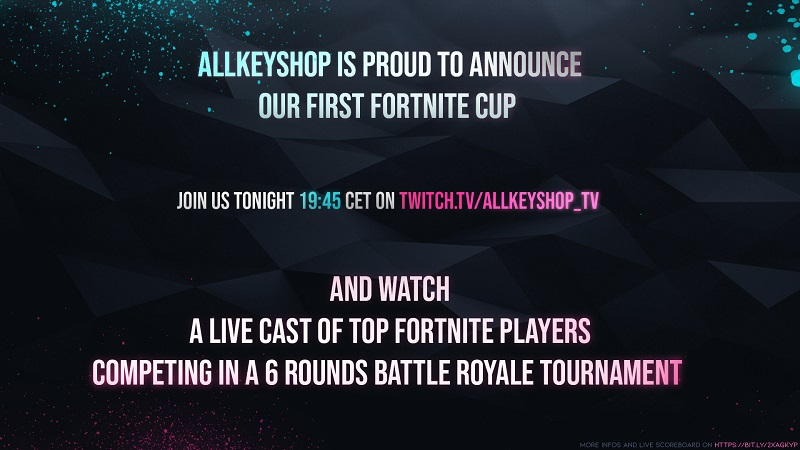 Allkeyshop Fortnite Cup Announcement