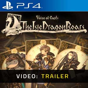 Voice of Cards The Isle Dragon Roars PS4 Video Trailer