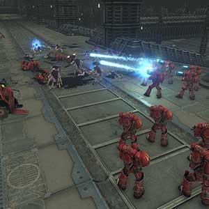 Warhammer 40K Battlesector Hellblaster Marine