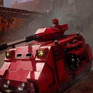 The Eternal Crusade Fully armed Predator tank