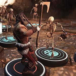 Clash on bones soldiers