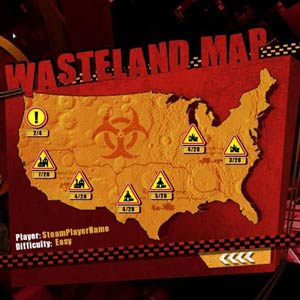 Wasteland Angel - Map
