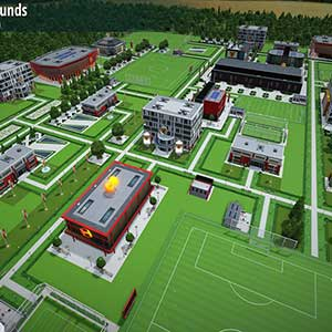 WE ARE FOOTBALL Club Grounds