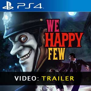 We Happy Few PS4 Prices Digital or Box Edition