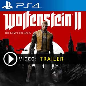 Wolfenstein 2 The New Colossus PS4 Prices Digital or Box Edition