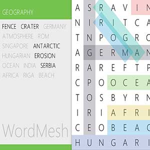 Word Mesh - Geography