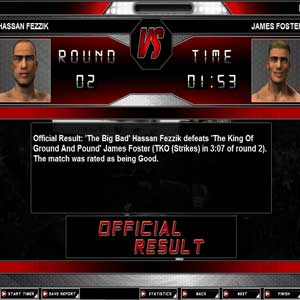 World of Mixed Martial Arts match results