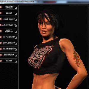 World of Mixed Martial Arts female fighters