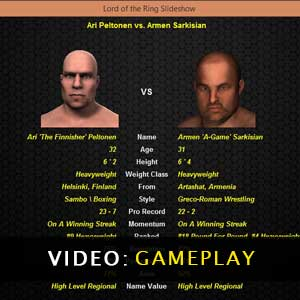 World of Mixed Martial Arts gameplay video