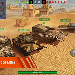 massive tanks