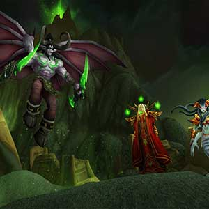 World of Warcraft Burning Crusade Classic Illidan Stormrage