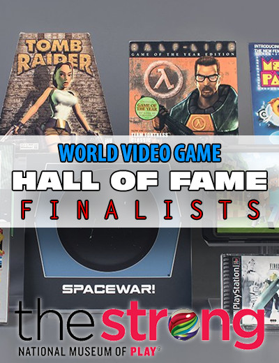 Here's This Year's Nominees for the World Video Game Hall of Fame