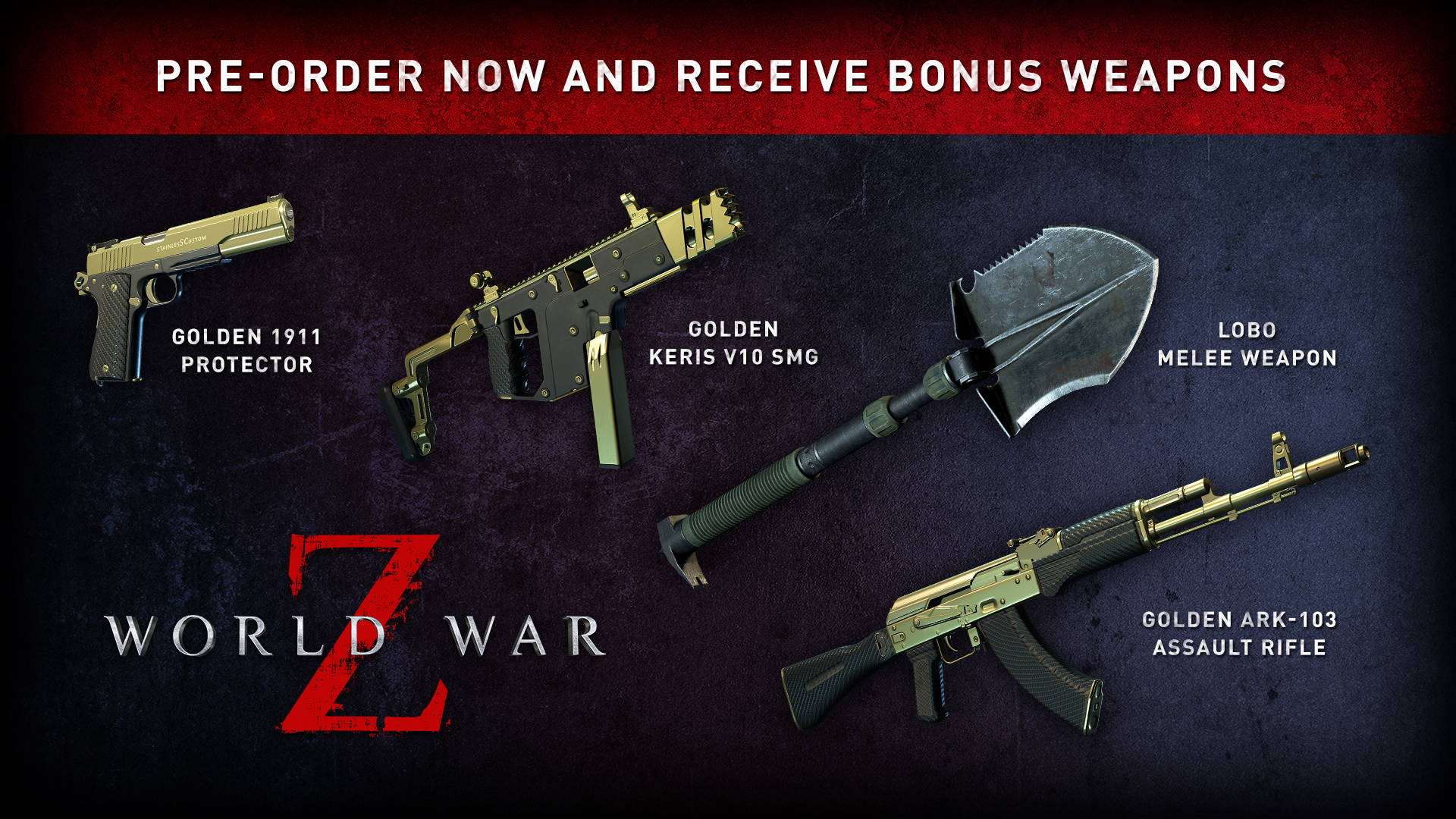 World War Z Pre Order Bonuses Include Iconic Lobo Weapon