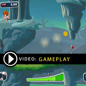 Worms Crazy Golf Fun Pack Gameplay Video