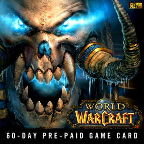 Compare and Buy Gamecard World Of Warcraft 60 Days Prepaid Time Card