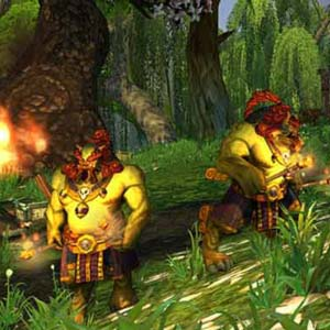 World of Warcraft Mists of Pandaria - Forest