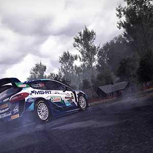 WRC 10 FIA World Rally Championship Drifting