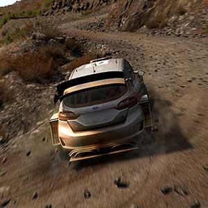 WRC 8 FIA World Rally Championship dirt road