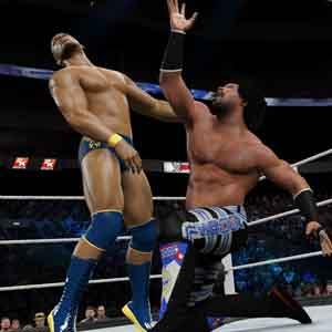 WWE 2K15 PS4 Fight Scene