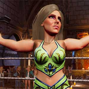 WWE 2K Battlegrounds Charlotte Flair