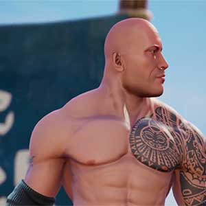 WWE 2K Battlegrounds The Rock