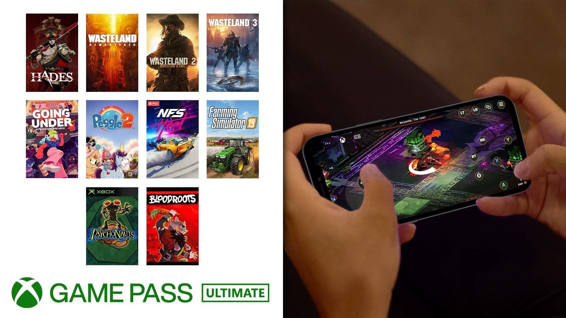 Xbox Game Pass Touch Controls Games