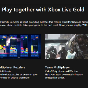 Xbox Live Gold Membership 12 Months Subscription Play Together