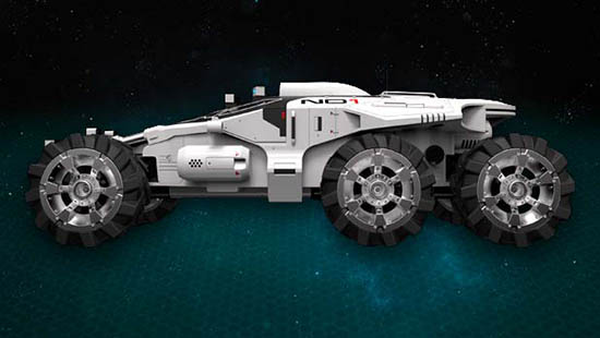 Mass Effect Andromeda Vehicle