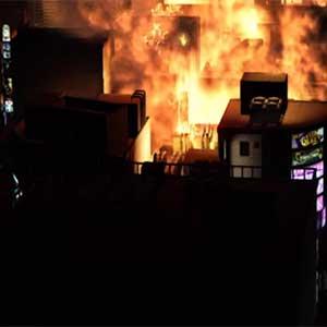 Yakuza 6 explotion