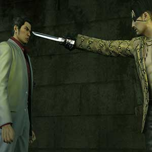 Kazuma Kiryu is released from prison