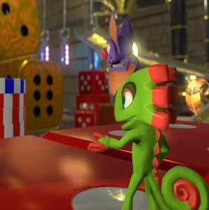Yooka at the Casino