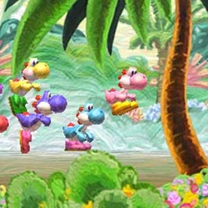 Yoshis New Island Nintendo 3DS Jumping