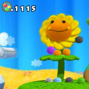 Yoshis Woolly World Nintendo Wii U Flower