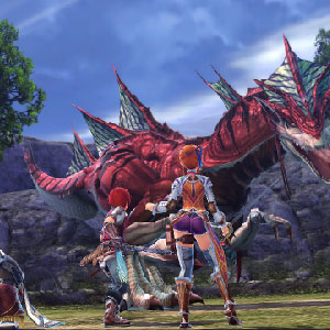 YS 8 Lacrimosa of DANA Gameplay Image