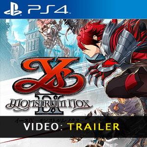 Ys IX Monstrum Nox PS4 Video Trailer
