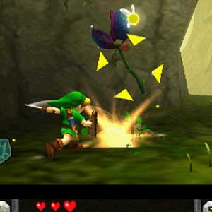 Zelda Ocarina of Time 3D Nintendo 3DS Jump