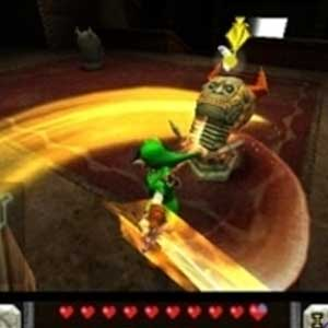Zelda Ocarina of Time 3D Nintendo 3DS Put Away