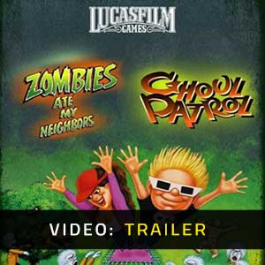 Zombies Ate My Neighbors and Ghoul Patrol Video Trailer