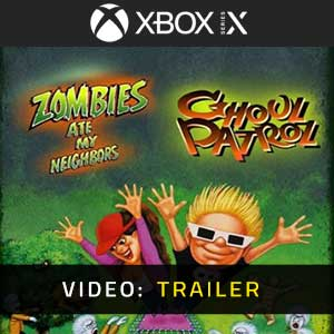 Zombies Ate My Neighbors and Ghoul Patrol Xbox Series X Video Trailer