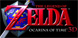 Zelda Ocarina of Time 3D Nintendo 3DS